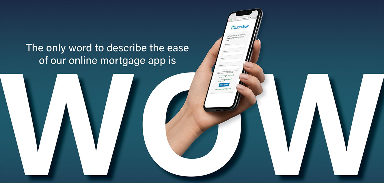 word to describe our mortgage app is WOW